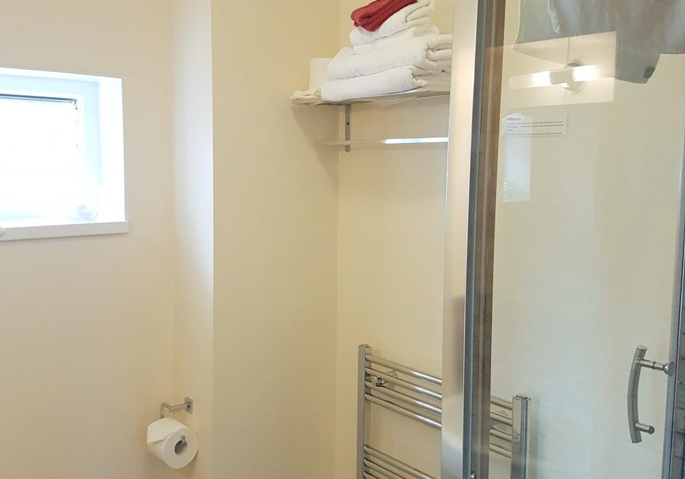 Ensuite bathroom for double room