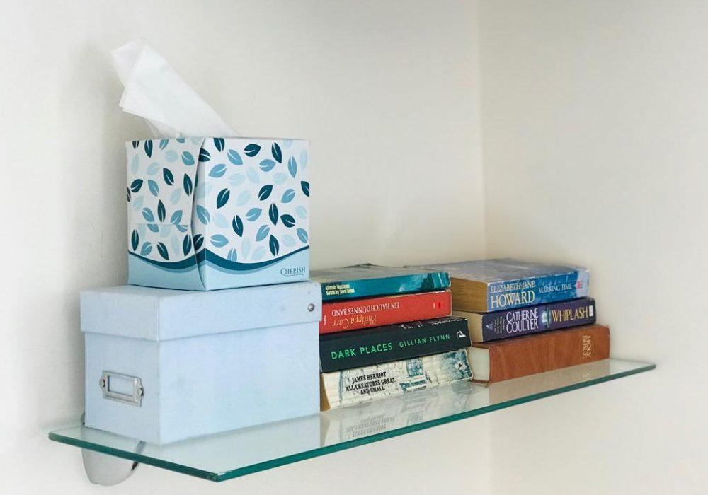 Hospitality shelf