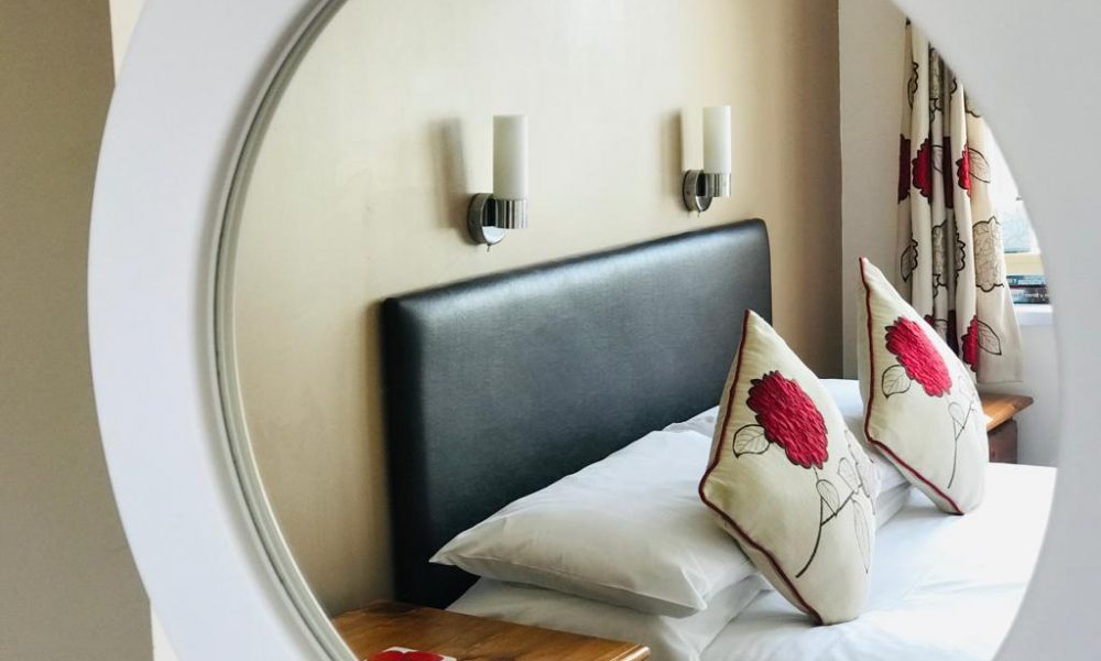 Ensuite double room at the first floor