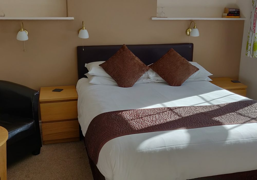 Ensuite double room at second floor