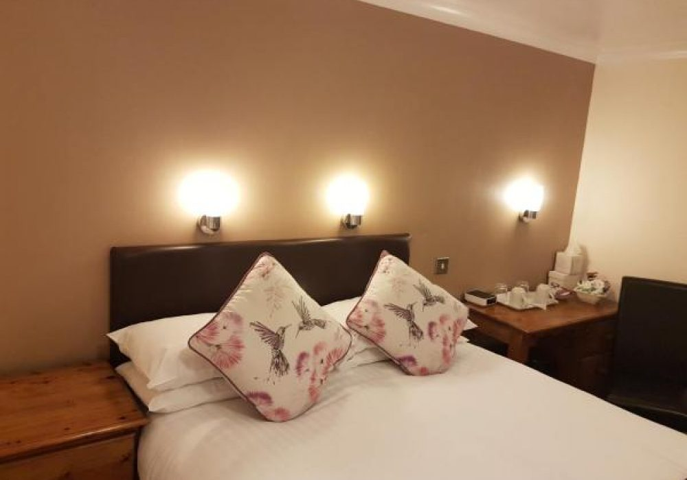Ensuite double room on the ground floor